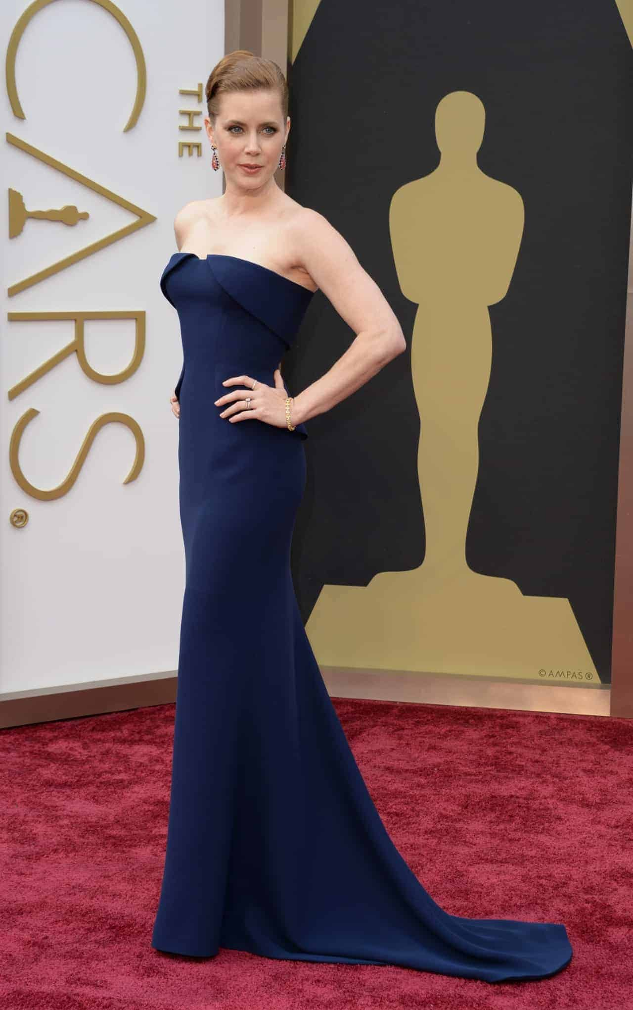 Amy Adams In Simple But Perfect Gucci