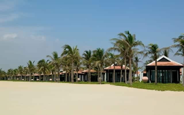 Nam Hai Hotel's luxury villas