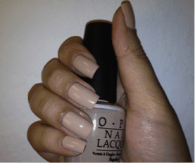 OPI Nail Colour 'Don't Pretzel My Buttons'.