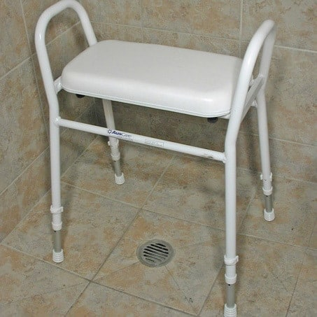 Most shower stools are like this - effective but a bit of an eyesore