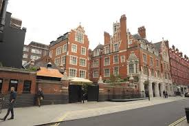 Chiltern Firehouse - A Completely Flat Entrance With Helpful Staff