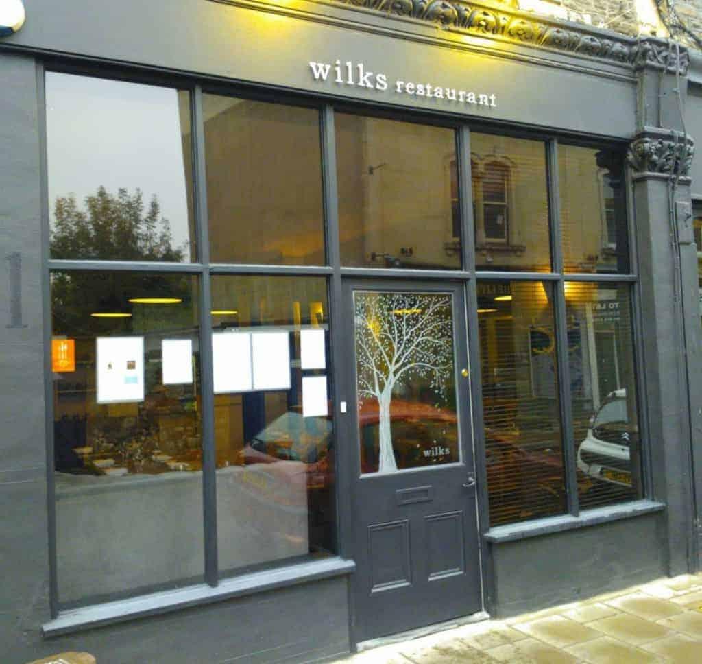 Wilks bristol small neighbourhood restaurant with