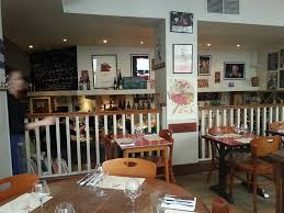 erroirs Upstairs, Accessible From Street , No Disabled Toilet But Macdonalds is Nearby! Worth A Visit as Wine & Food Superb