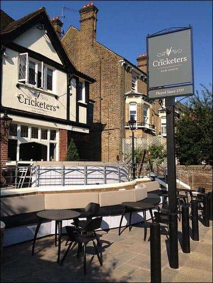 The Cricketers in Kew