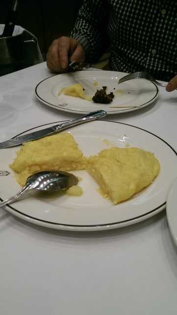 Lovely tortilla but very simple - The American Lieutenant even claimed that he could make it himself!