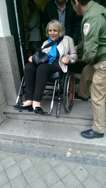 Security guards provided - a different approach to accessibility