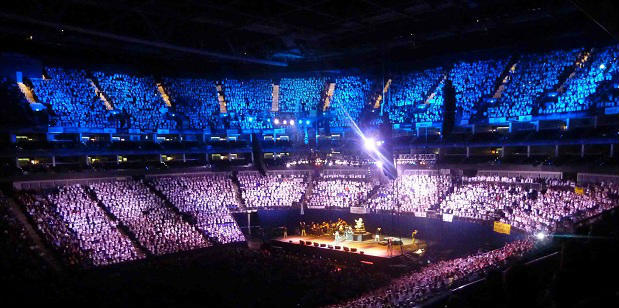 Even the country's biggest venues are offering little for disabled fans