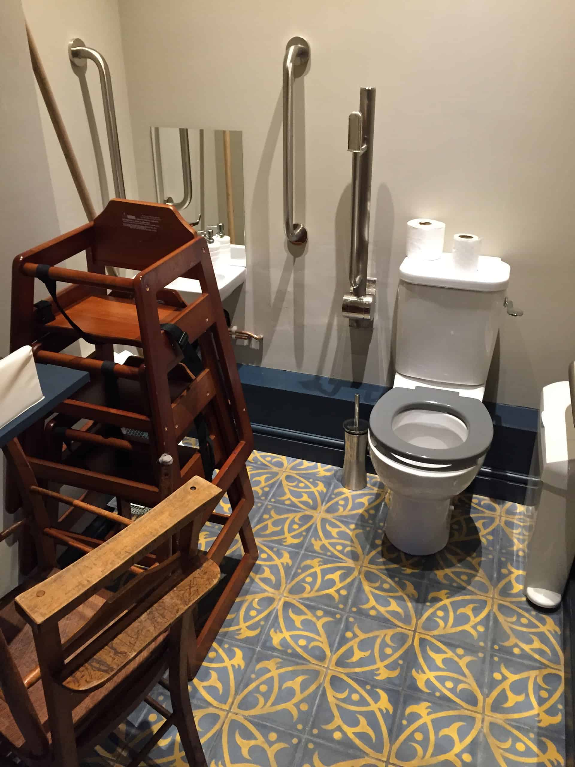 Ludicrous Loo? How do You Get to the Washbasin??