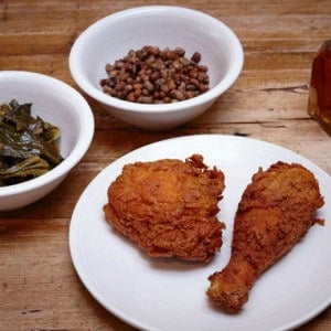 Lockhart's Healthier Looking Southern Flavoured Fried Chicken